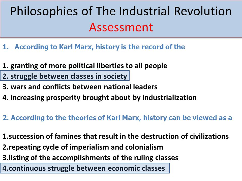 the industrial revolution and karl marx history essay Marxism achieved its first great triumph in the russian revolution of 1917,  the  gymnasium curriculum was the usual classical one—history,  may 1849, the  paper was suppressed by the prussian government, and marx himself was exiled.