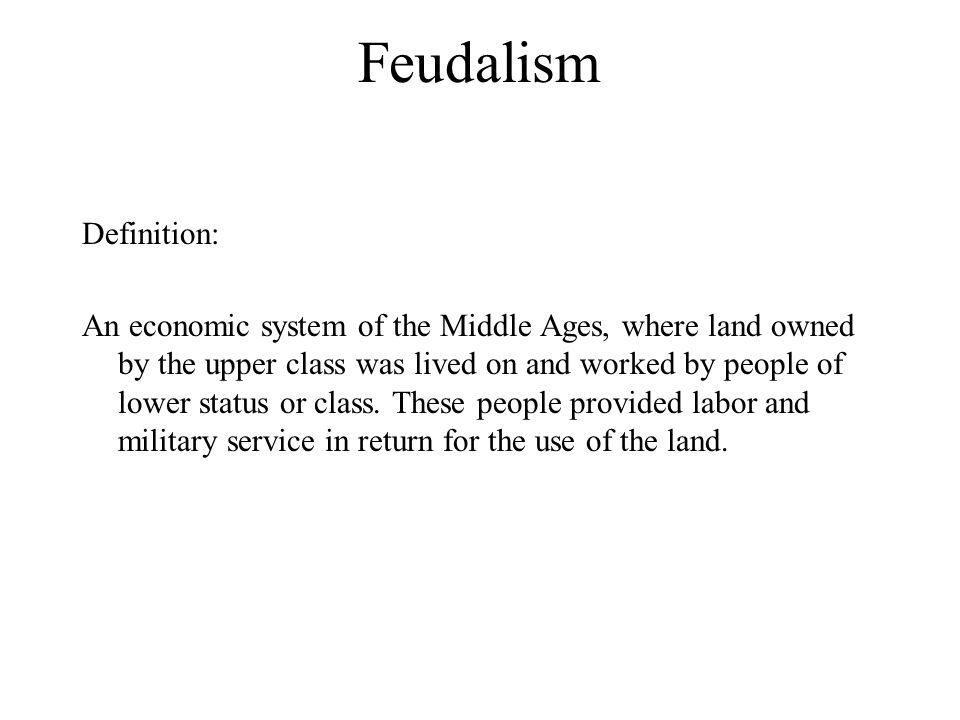 feudalism to capitalism For paul virilio, the transition from feudalism to capitalism was driven not primarily by the politics of wealth and production techniques but by the mechanics of war.