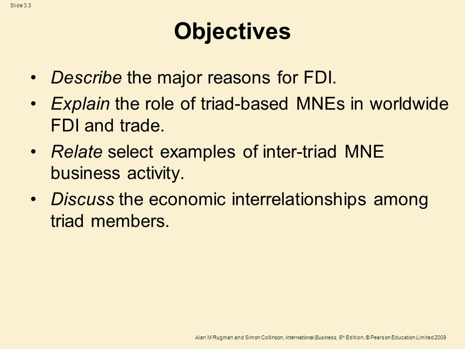 an analysis of the basic objectives of economic activity
