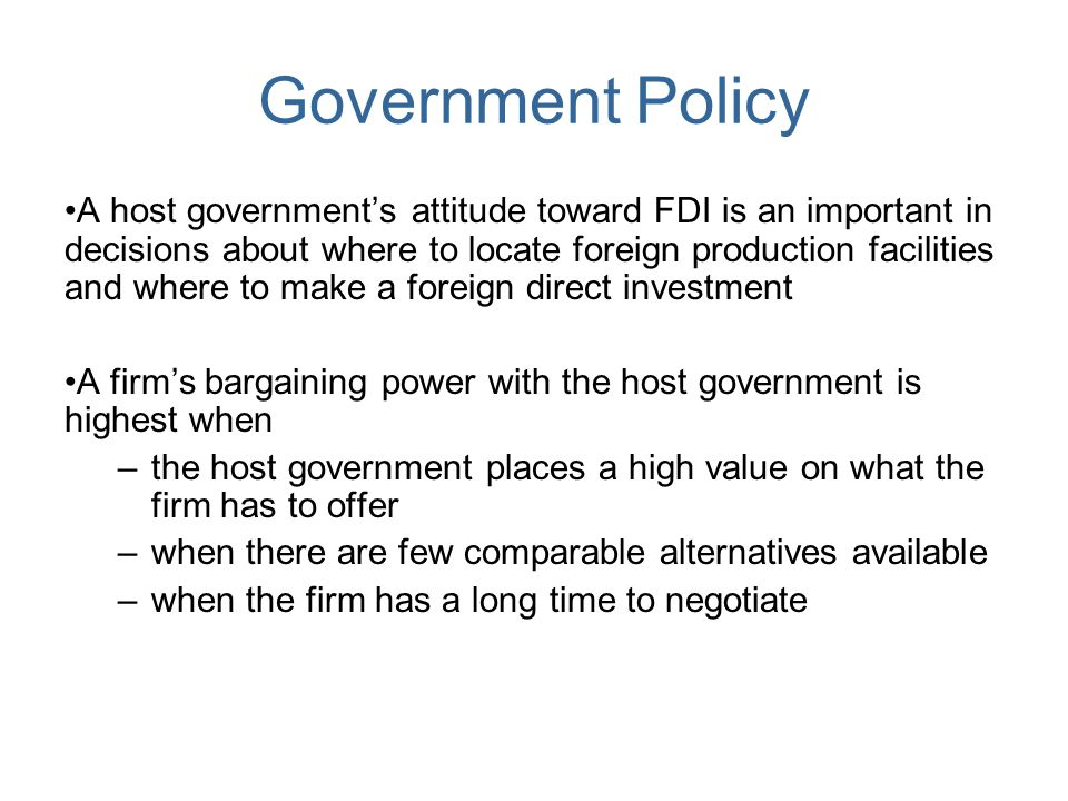 is foreign direct investment fdi necessary A methodological critique of foreign direct investment in development countries - many writers have tried to figure out if there is a direct link between foreign direct investment (fdi) and economic growth of an economy in terms of gross domestic product (gdp) but a reliable procedure hasn't been found yet.