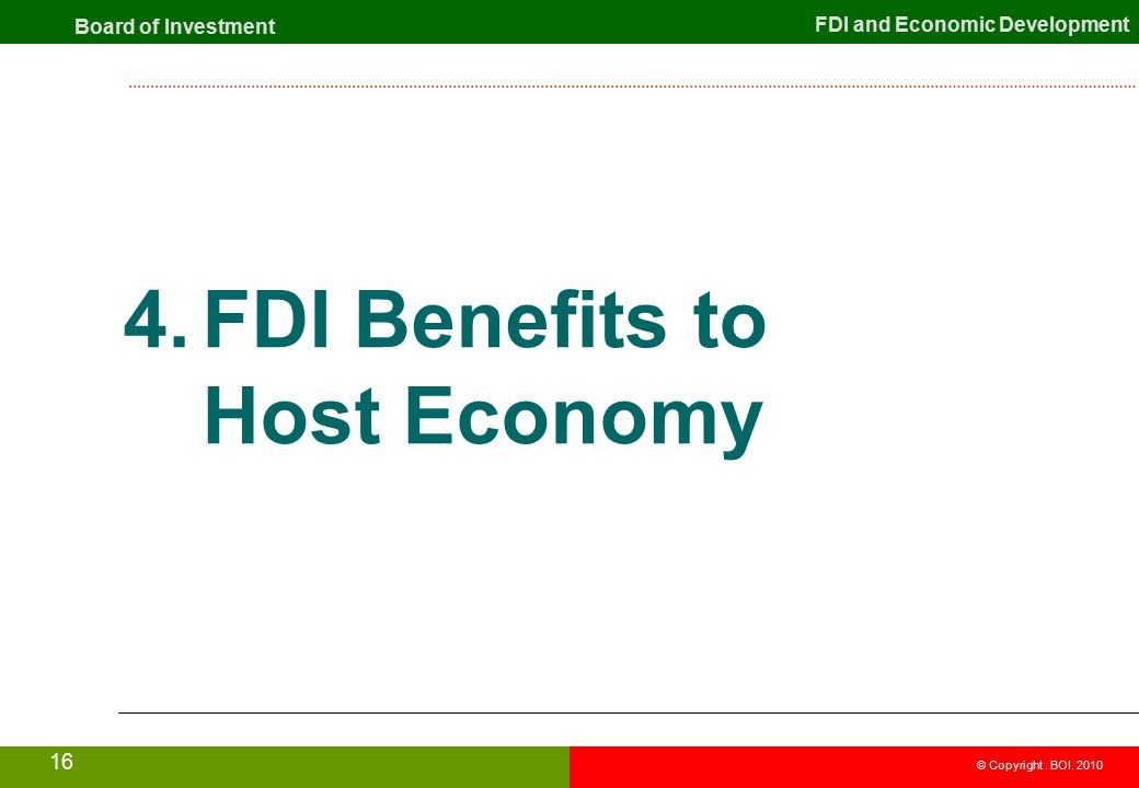 benefits of fdi Foreign direct investment (fdi) is a major driver of us exports and creates high- paying us jobs.