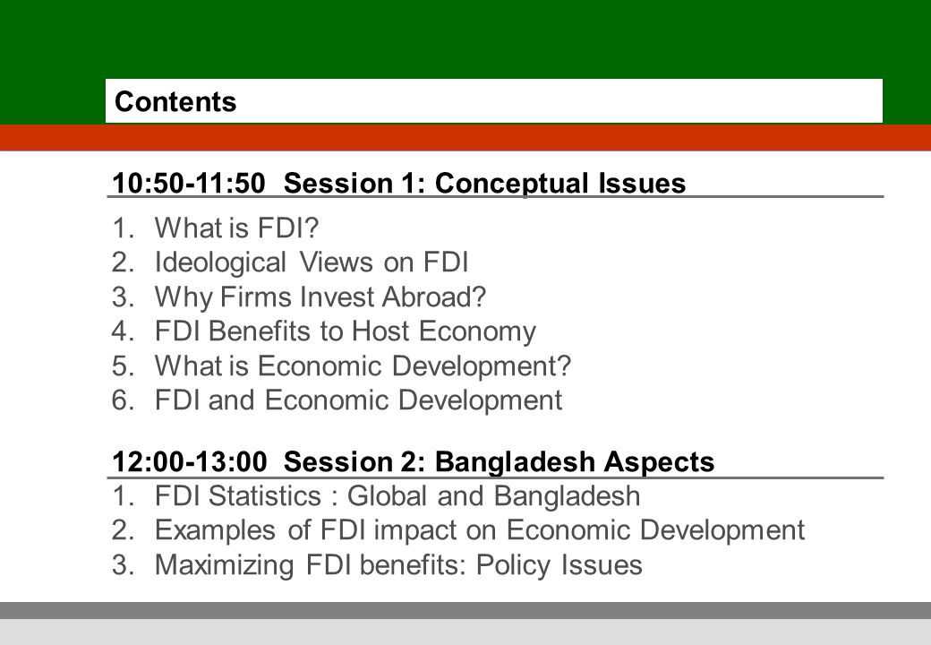 direct foreign investment in bangladesh challenges Foreign direct investment in myanmar: what impact on human rights 8|76 activities the investment challenges in a context where the economy is still dominated by the interests of the mili.