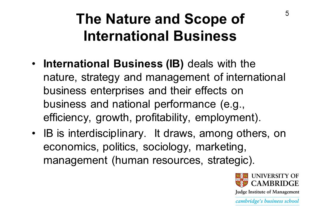 nature ans scope of international marketing Meaning of international marketing marketing, also known as marketing or marketing, is the discipline dedicated to elaborate strategies for the commercial management of the companies, seeking to stimulate demand.