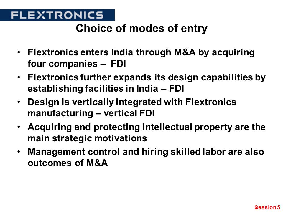 mode of entry in india by Determinants of mnc's mode of entry into an emerging market: affiliates of mncs in india) adopted new technology to a greater extent than other firms.