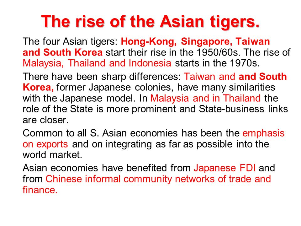 rise of fdi in asia Implications for the multilateral/regional trade regime lévy — the rise of asian emerging countries in the in asia, the share of fdi stock in services is.