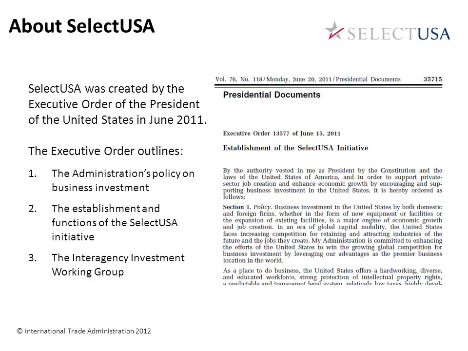 Promoting Business Investment In The United States SelectUSA - Us states in order