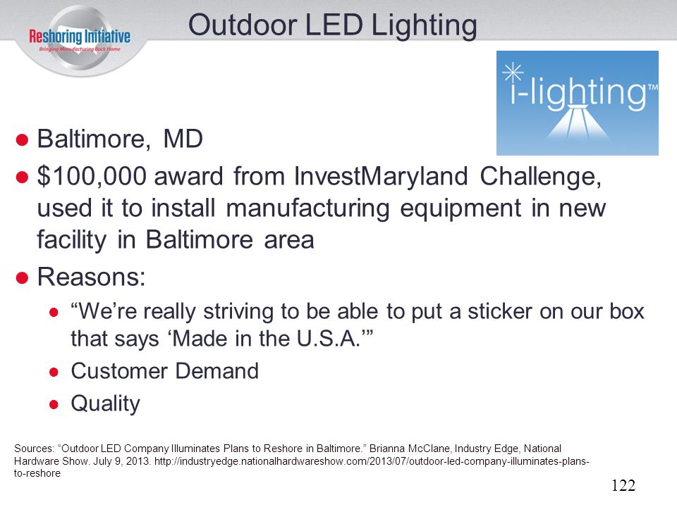 Outdoor LED Lighting Baltimore, MD