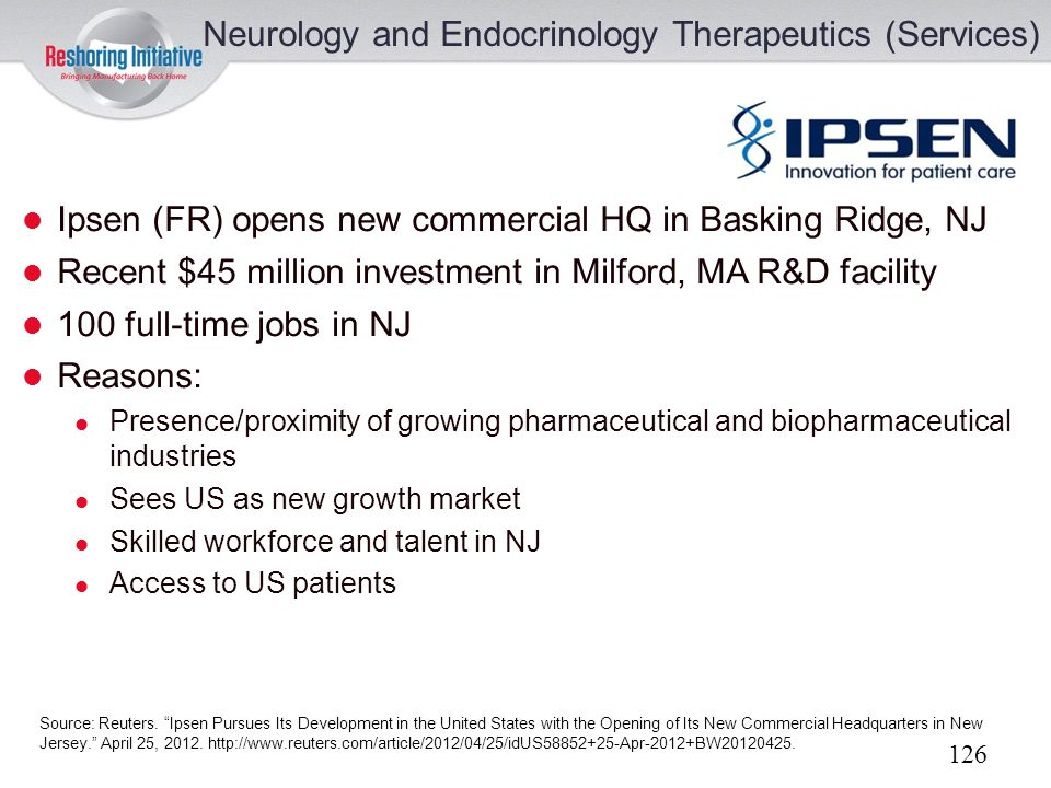 Neurology and Endocrinology Therapeutics (Services)