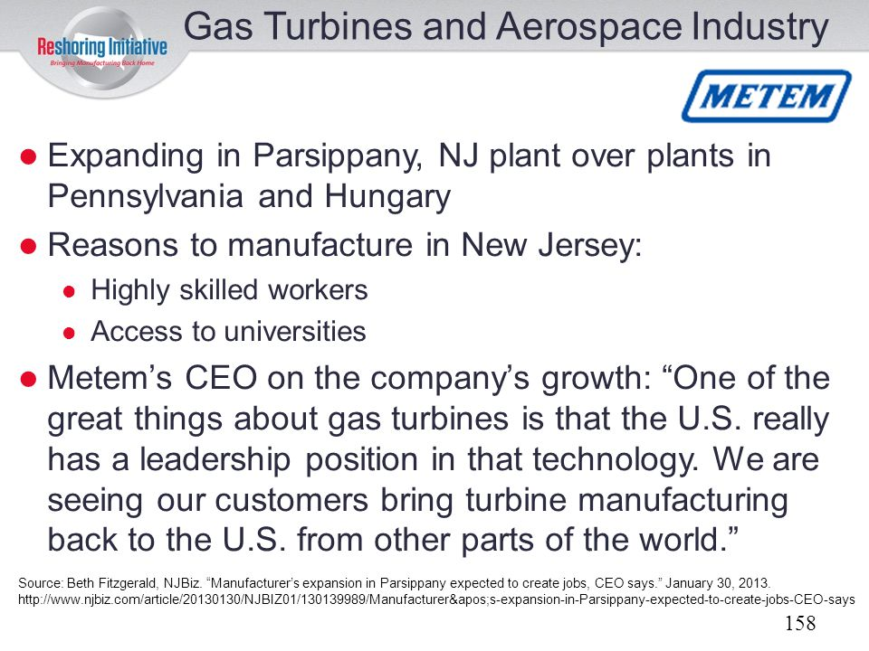 Gas Turbines and Aerospace Industry