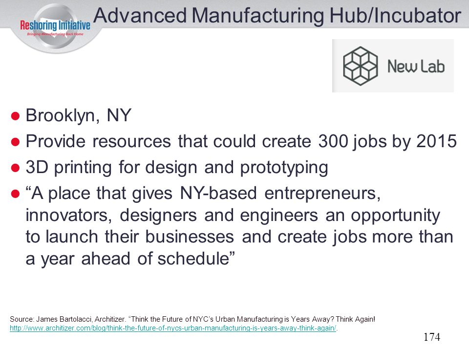 Advanced Manufacturing Hub/Incubator