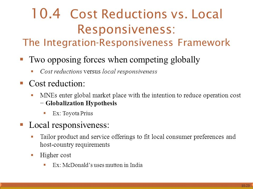 mcdonald cost reduction strategy