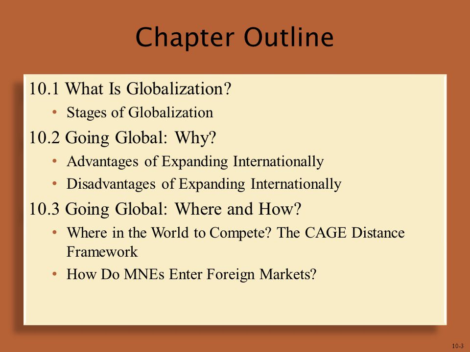 The CAGE Framework – Distance Matters in Globalization!!!