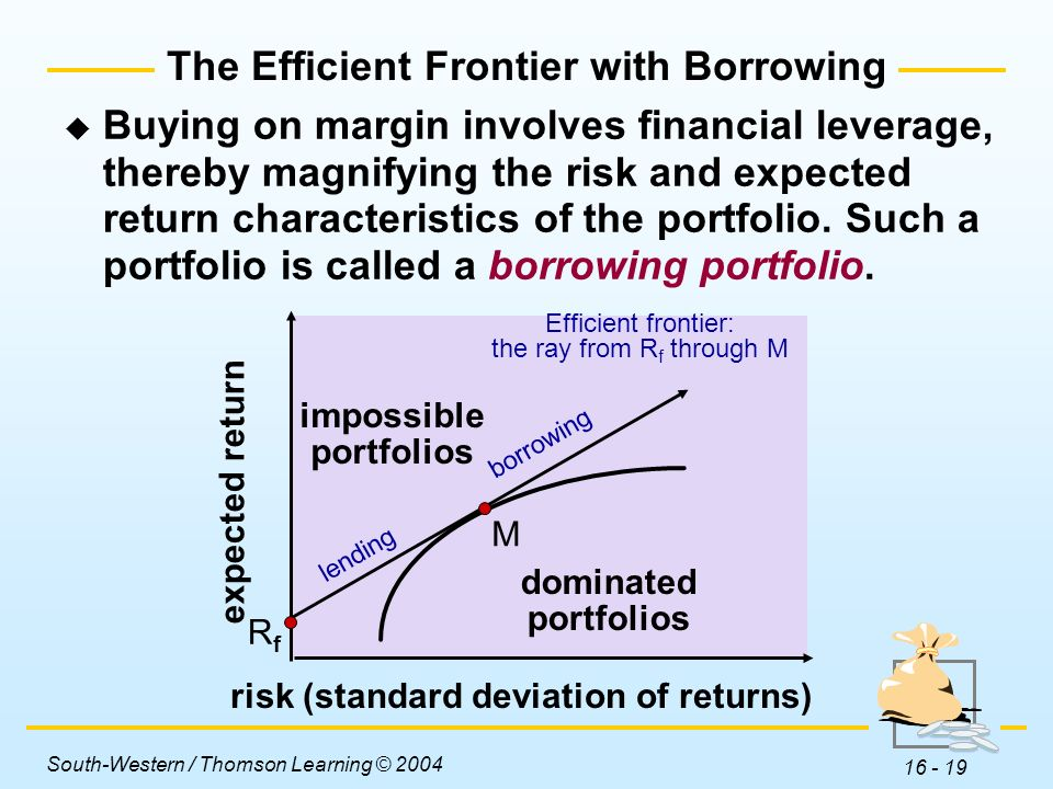 The Efficient Frontier with Borrowing
