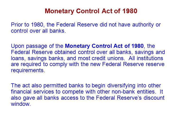 What is the Fed: Monetary Policy