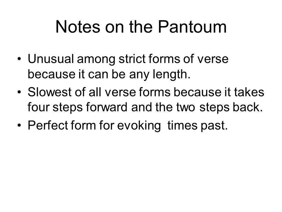 Poetry Verse Forms. - ppt video online download