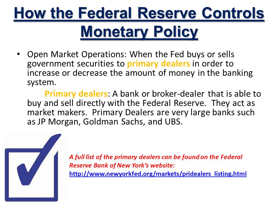 federal reserve open market operations essay The federal reserve's objective for open market operations has varied over the years during the 1980s, the focus gradually shifted toward attaining a specified level of the federal funds rate, a process that was largely complete by the end of the decade.