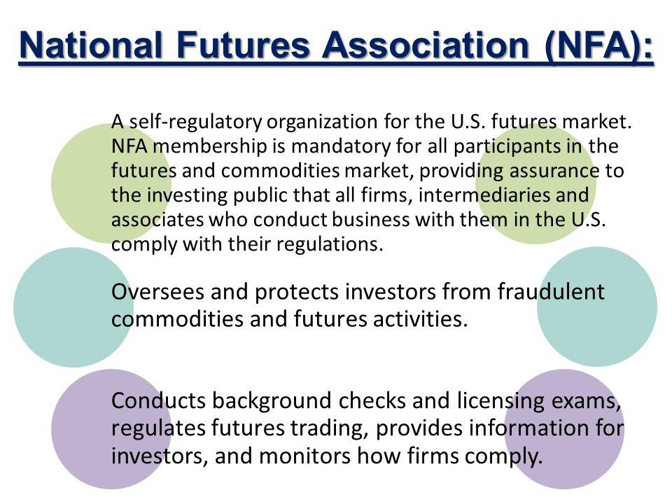 National futures association forex