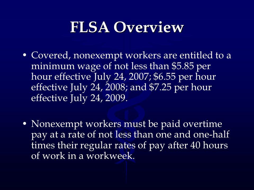 FLSA Overview