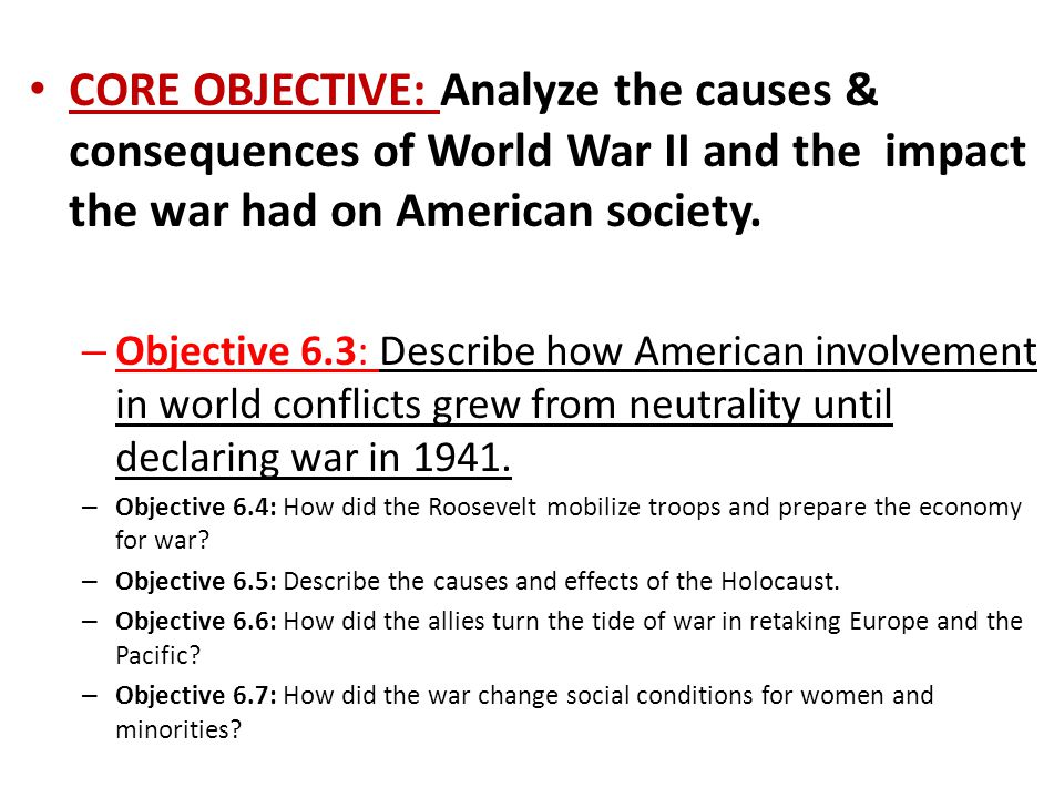 an analysis of the causes of world war two Facts, information and articles about world war ii, 1939-1945 uss arizona pearl harbor world war ii facts dates september 1, 1939 – september 2, 1945 location europe, pacific, atlantic, south-east asia, china, middle east, mediterranean and northern africa.