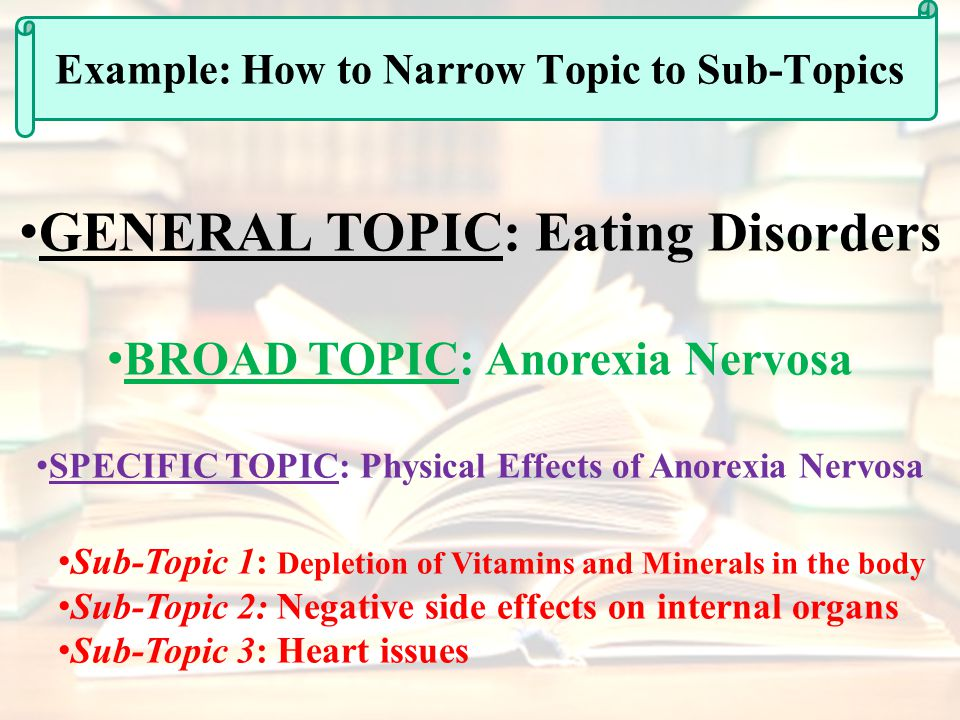 an analysis of the topic of the issues of anorexia nervosa May 2017 , volume 73, issue 2, pp 297–305 | cite as  attitudes in people  suffering from anorexia nervosa, based on an analysis of recent data  anorexia  nervosa eating disorders nutritional attitudes nutritional behaviors  every  attitude and behavior in an subjects has an affective and motivational.