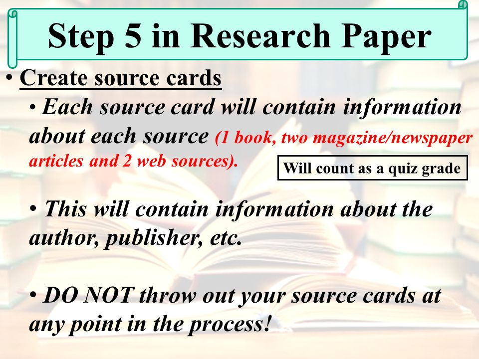internet as a source in a research paper Conducting research these owl resources will help you conduct research using primary source methods, such as interviews and observations, and secondary source methods, such as books, journals, and the internet.