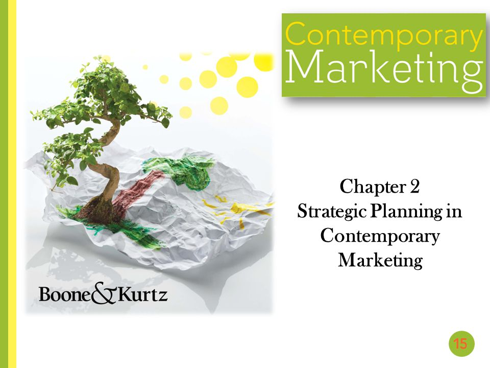 Chapter 2 Strategic Planning in Contemporary Marketing