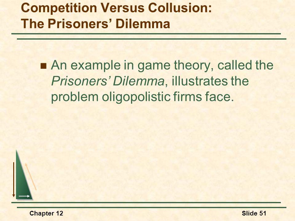 konkurrenzproblem im oligopol