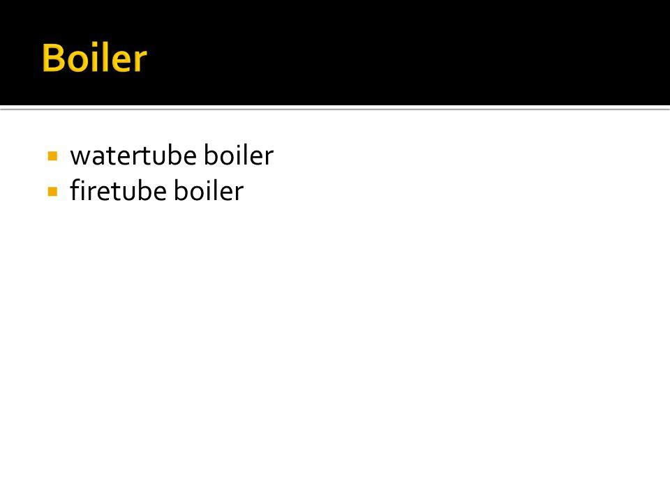 Boiler watertube boiler firetube boiler