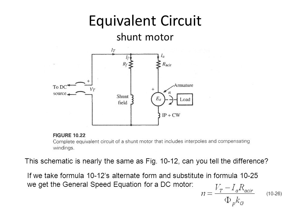 Dc Shunt Motor Circuit impremedia net