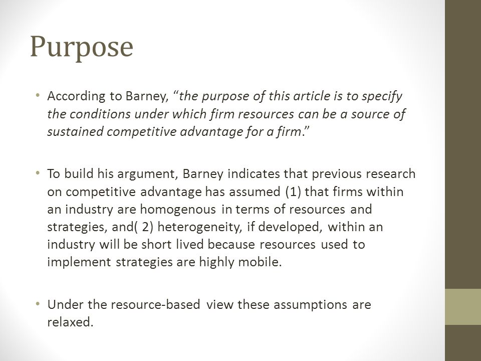 barney firm resources