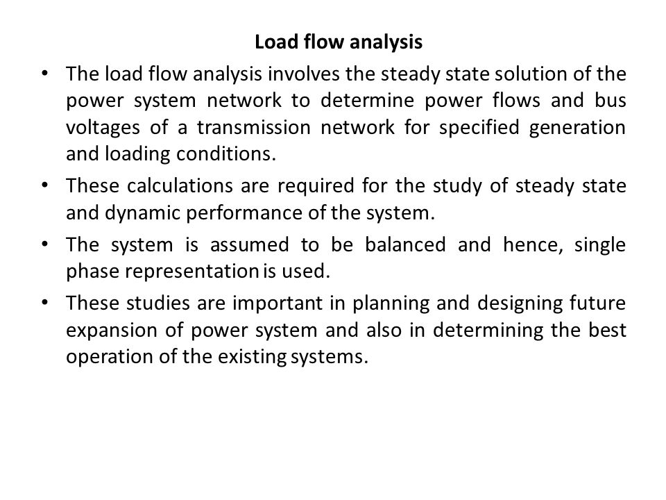 Why do we prefer admittance over impedance in load flow ...