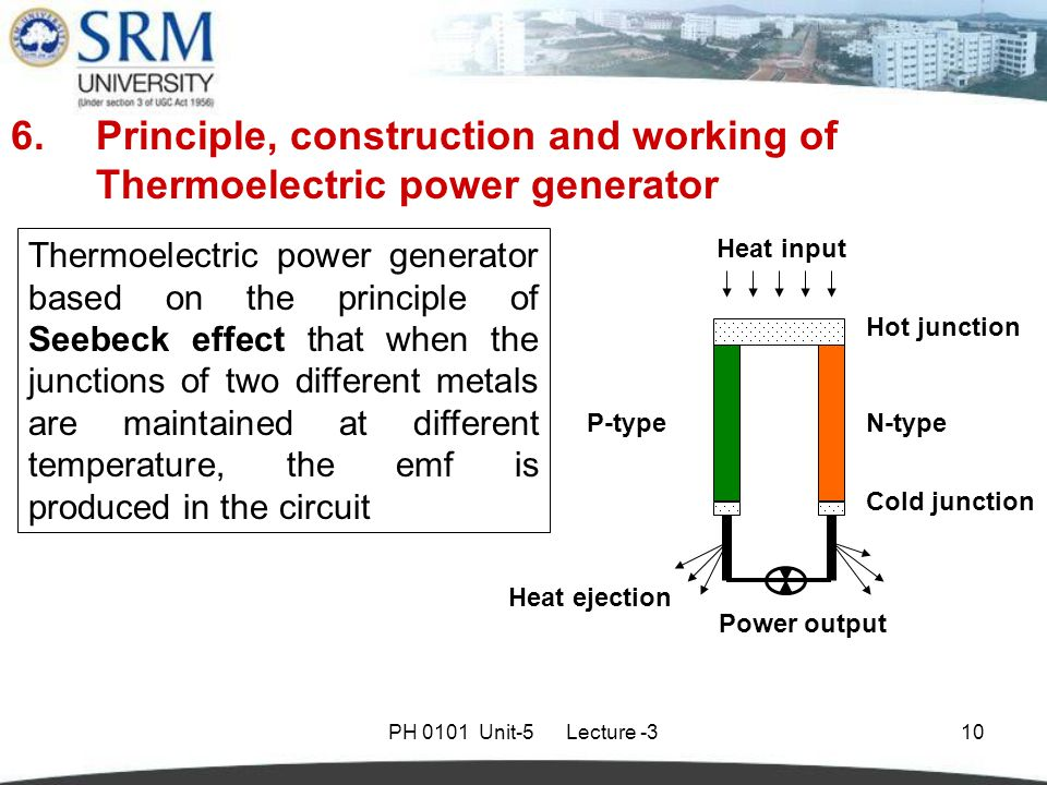thermoelectric generator working principle pdf
