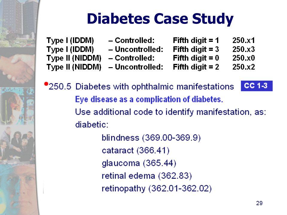 case study diabetes type 1