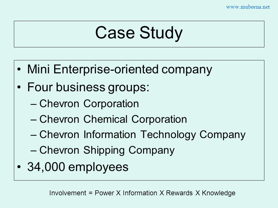 Chevron Corporate Responsibility Case Studies — Chevron.com