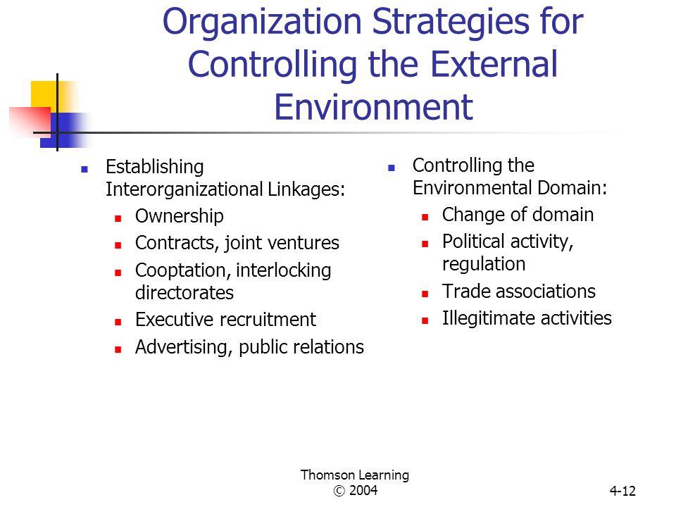 external environment of an organization pdf