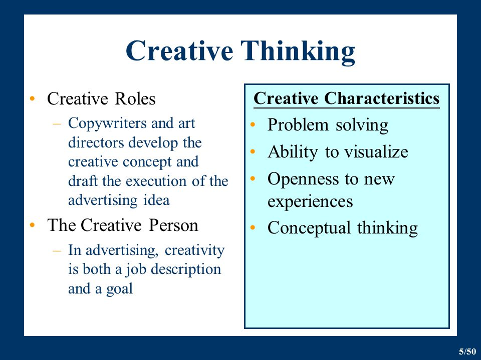 The Creative And Message Strategy - Ppt Download