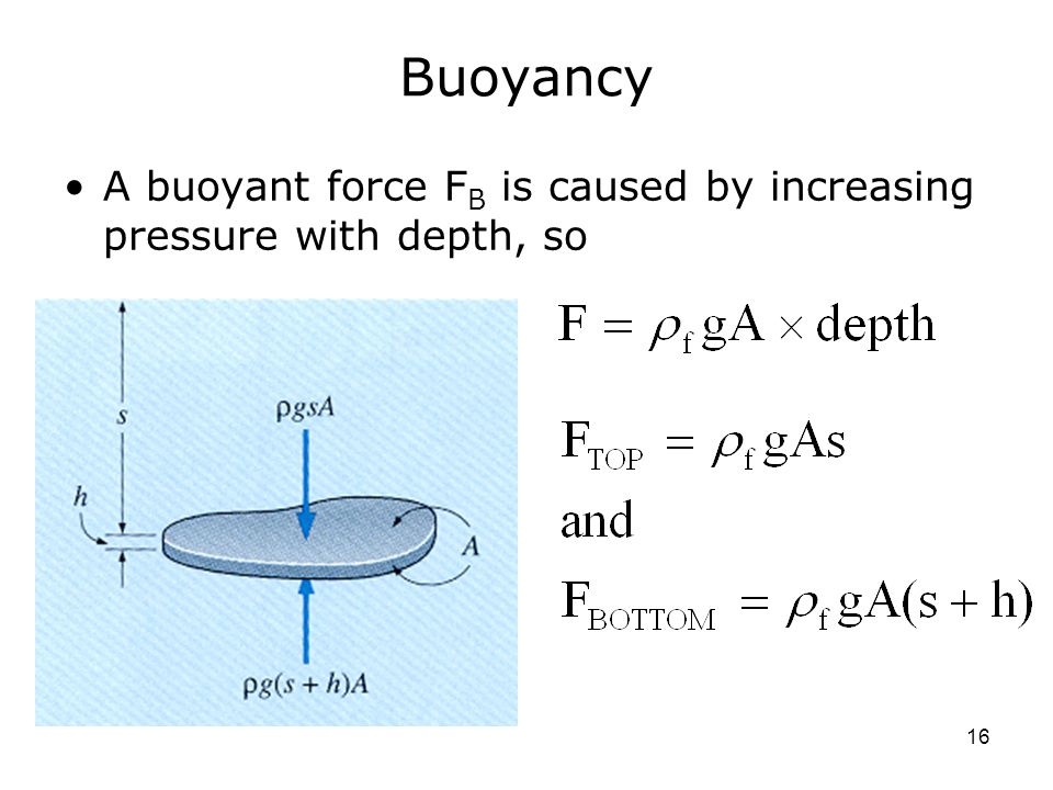a report on density and buoyant force Weight is greater than buoyant force 2 the object's density is greater than the fluid's density 3 the object is compressed and becomes denser than the fluid.