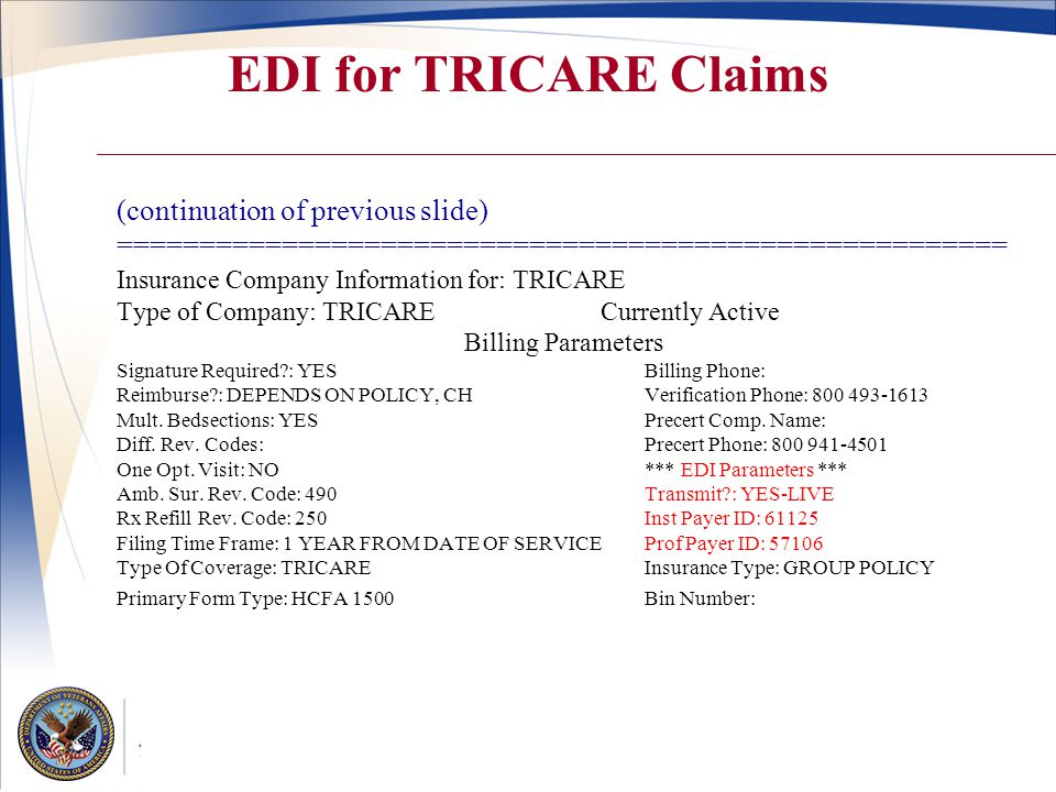 Tricare 102 Edie A Bean Va Liaison Tron Ppt Video