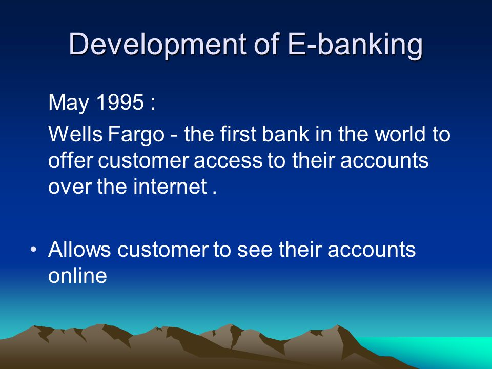 definition of e banking E-banking definition, meaning, what is e-banking: the activity of managing a bank account or operating as a bank over the internet learn more.