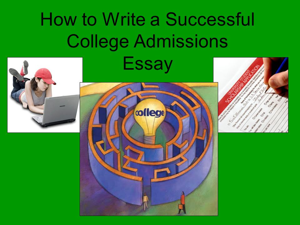 Successful application essays for college