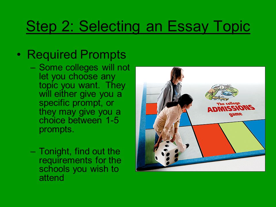 easy essay topics list