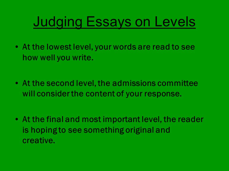 a creative essay about judging $100,000 essay contest  judges 2018  all entries must include a real-life  situation and creative ideas for making the world a more accepting, inclusive.