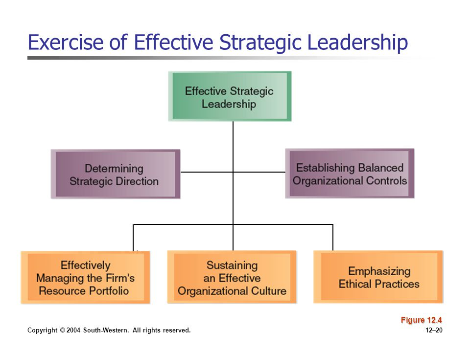 Exercise of Effective Strategic Leadership