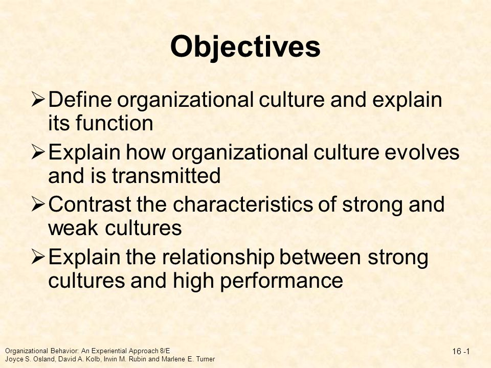 organizational culture and its importance Every organization has its own culture since many employees spend 40 or more hours at their workplace, their organization's culture obviously affects both their work lives as well as their.