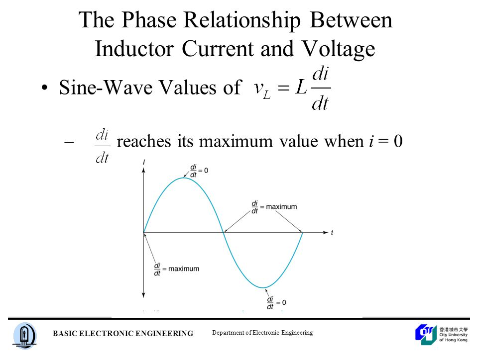 relationship between current and voltage in a capacitor
