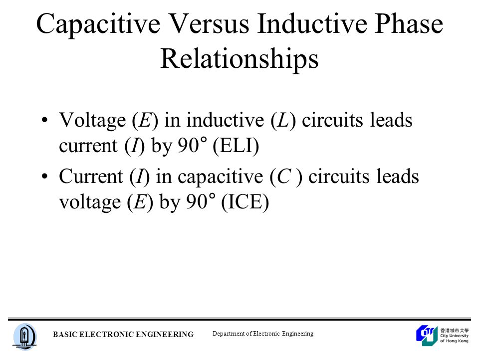 capacitor vs inductor essay The four common classes of components encountered in electrical circuits are  resistors, capacitors, inductors, and transformers.