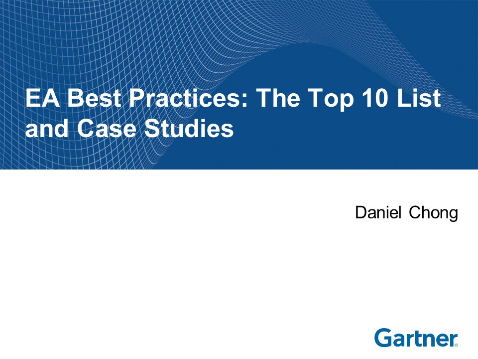 What Are The 10 Best Practices Of Enterprise Architecture