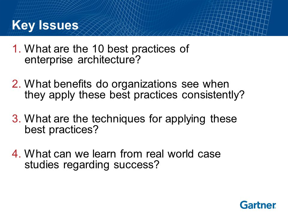 The 10 Best Practices Of Successful EA Programs