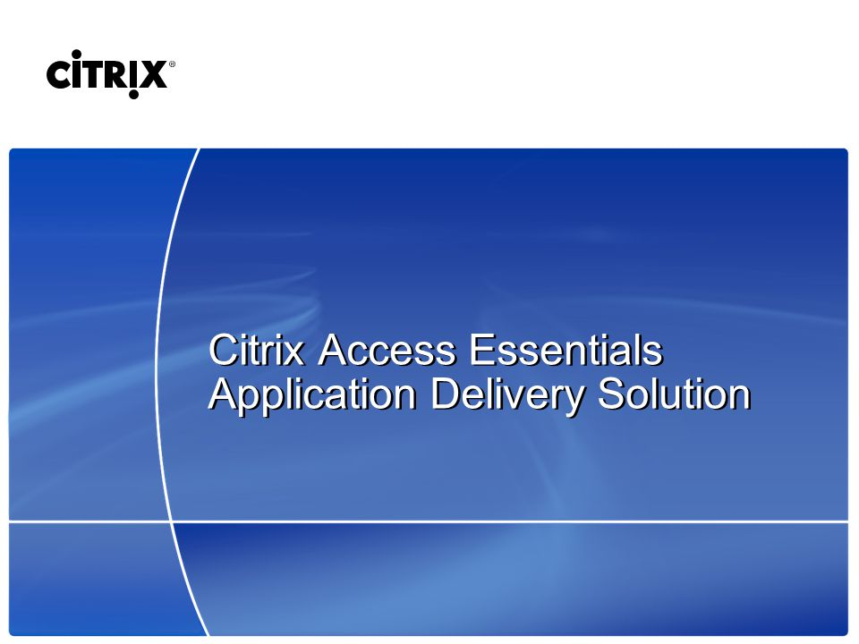 optimize citrix for high latency