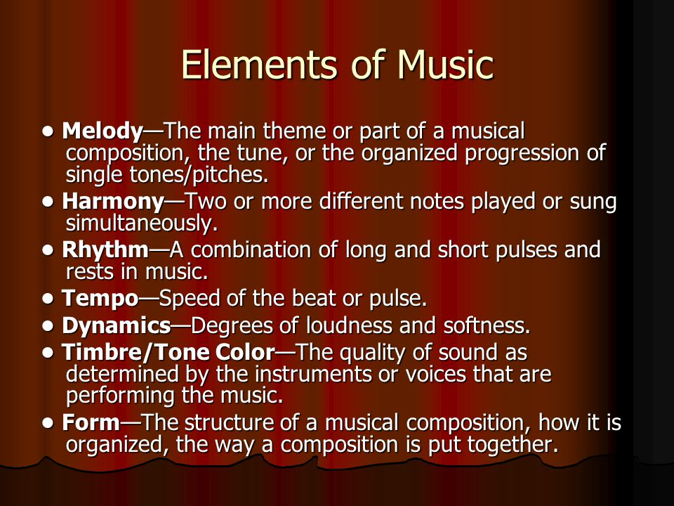 The structures and purposes of the art forms music ppt for The craft of musical composition